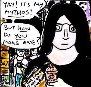 2015 Artwork Creating A Mythos Article sketch