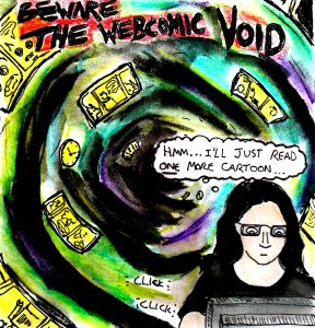 """""""The Webcomic Void"""" By C. A. Brown"""