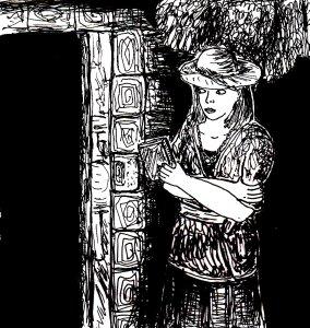 """""""The Secret Door"""" By C. A. Brown"""
