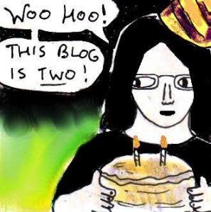 2015 Artwork Blog Second Anniversary article sketch