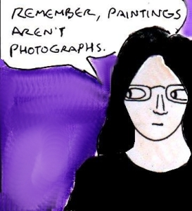 2015 Artwork How Accurate Should Still Life Paintings Be Sketch