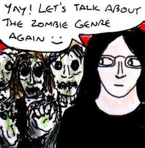 2015 Artwork Interesting Zombie Stories article sketch