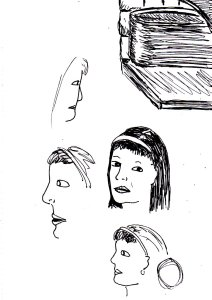 These were some random fast sketching exercises (whilst watching DVDs) I failed miserably at recently.