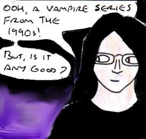 2015 Artwork Ultraviolet TV show review sketch