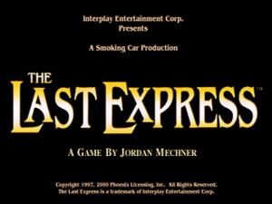 Last express title card