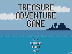 treasure adventure title screen