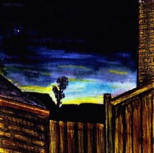 """View Over The Gate"" By C. A. Brown"