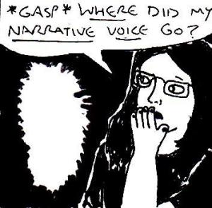 2015 Artwork Can You Lose Your Narrative Voice article sketch