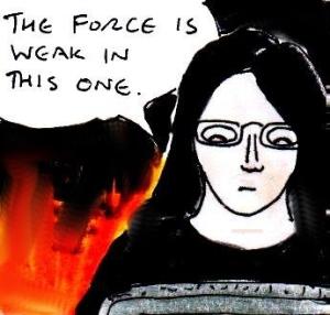 2015 Artwork Dark Forces review sketch