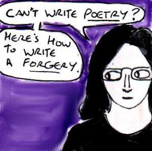 2015 Artwork Fake Poetry article sketch