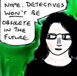 2015 Artwork Sci-fi Detective stories article sketch