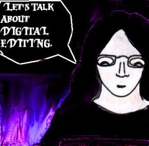 2015 Artwork Should you digitally edit article sketch