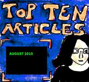 2015 Artwork Top Ten Articles August