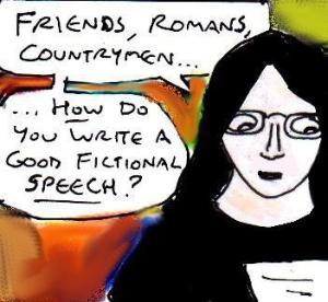2015 Artwork Writing Fictional Speeches article