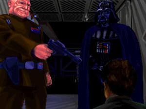 And, yes Darth vader is in this game too.