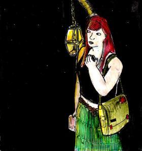 """""""Lantern"""" By C. A. Brown"""