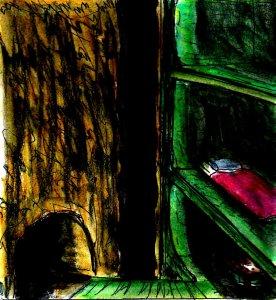 """""""Shelf Hotel (A Dream)"""" By C. A. Brown"""