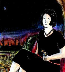 """""""In The Dark Garden"""" By C. A. Brown"""
