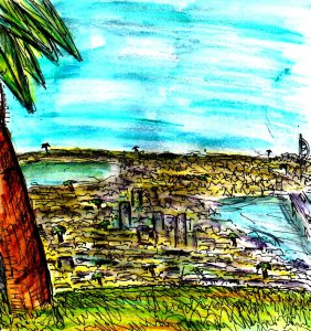 """""""The Palms Of Portsmouth (A Dream)"""" By C. A. Brown"""