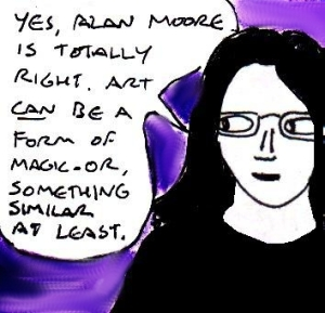 2015 Artwork Alan Moore Art Perceptions Article replacement sketch