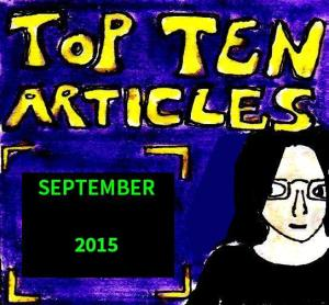 2015 Artwork Top Ten Articles September