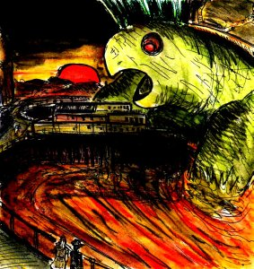 """""""Attack Of The 50 Foot Tortoisezilla"""" By C. A. Brown"""
