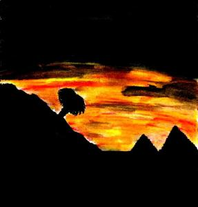 """""""Plains Of The Pyramids"""" By C. A. Brown"""