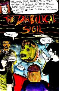 """Diabolical Sigil - Cover"" By C. A. Brown"