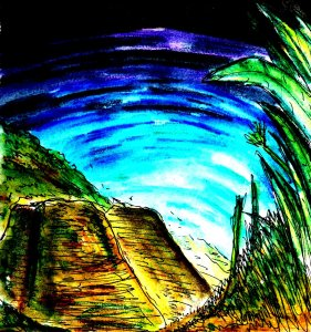 """""""Daylight Tunnel"""" By C. A. Brown"""