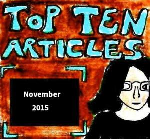2015 Artwork Top Ten Articles November