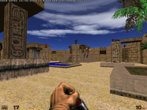 "Yay! It's like a mid-1990s version of ""Serious Sam"" :)"