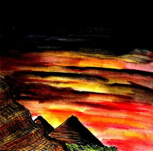 """Twilight Of The Pyramids"" By C. A. Brown"