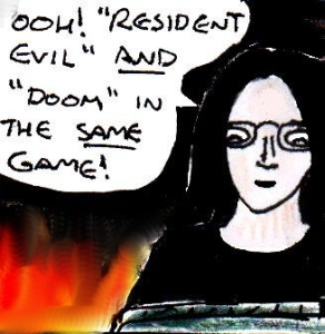 2015 Artwork Doom The Mercenaries review sketch