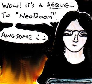 2015 Artwork Final NeoDoom WAD review sketch