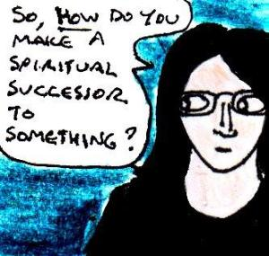 2015 Artwork Spiritual successors article sketch