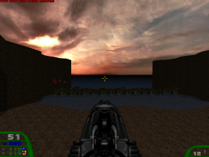 Just LOOK at that sky! Look at it! So realistic! No wonder the download is over 200MB in size!