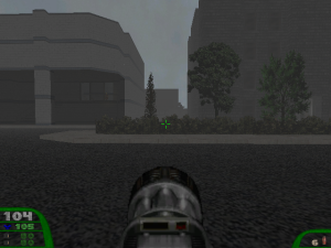 Yay! The city level now looks a bit like Silent Hill!