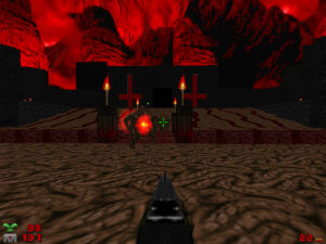 The hell levels also look significantly more epic too.