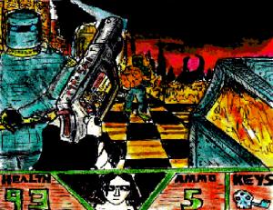 """FPS 1994 - Pyro War"" By C. A. Brown"