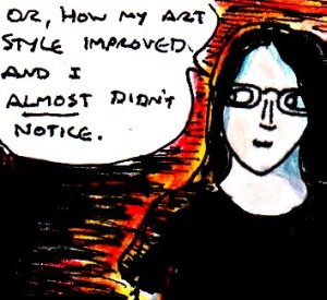 2015 Artwork Art style subtle improvements article sketch