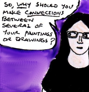 2015 Artwork Connected paintings and drawings article sketch