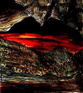 """""""Cavern"""" By C. A. Brown"""