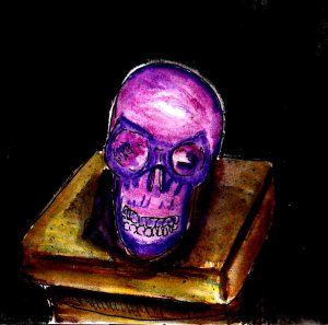 """Purple Skull"" By C. A. Brown"