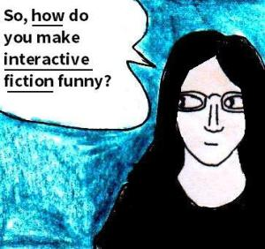 2016 Artwork Interactive fiction humour sketch