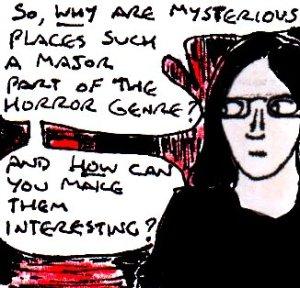 2016 Artwork Mysterious settings in the horror genre