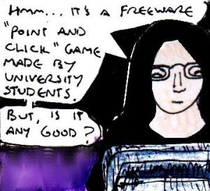 2016 Artwork Rosemary freeware game review sketch