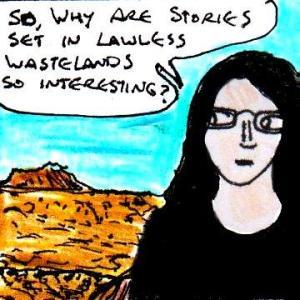 2016 Artwork The Joy Of lawless wasteland settings sketch