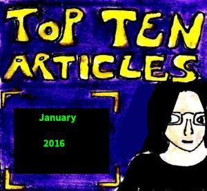 2016 Artwork Top Ten Articles January