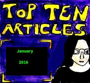 2016 Artwork Top Ten Articles January