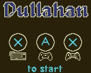 Dullahan title screen